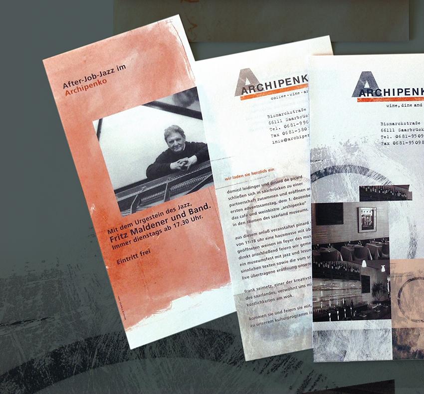 Archipenko, Corporate Design