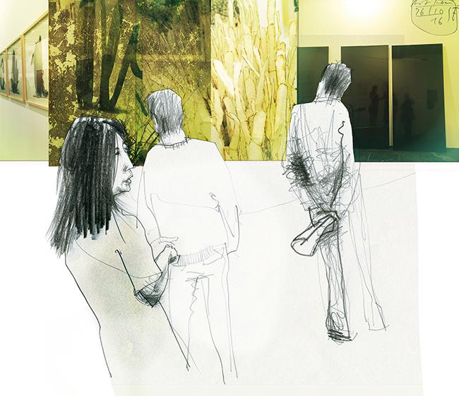 Illustration.people.ArtFair